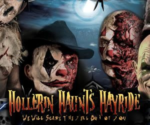 hollerin haunts hayride